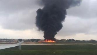 Small Plane Crashes In Malta 5 People Died