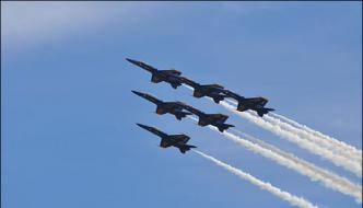 32nd Annual Air Show Organized In Huston