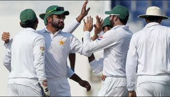 Pakistan Need 6 More Wickets Sniff Series Clinching Win In Abu Dhabi