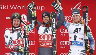 Alpine Skiing Pinturault World Cup Season Starts In Austria
