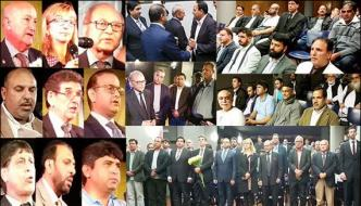 Program Entitled Foundation Day Kashmir Held In Barcelona