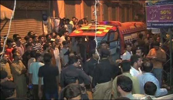 Roof Collapse In Mochi Gate Area Of Lahore