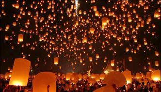 Thousand Of Lanterns Light Up The Night Sky In Austin