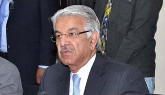 People Should Be Free From Political Protest Khawaja Asif