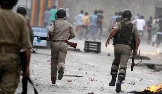 Indian Forces Martyred 17 Kashmiris In Occupied Kashmir During October