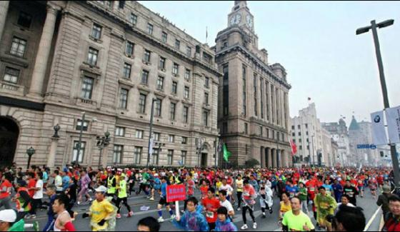38 Thousand Athletes Participated In The Shanghai Marathon