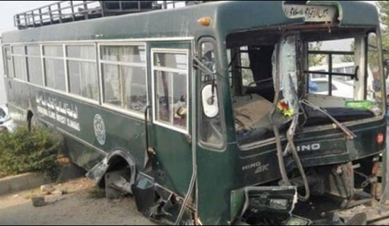 19 Students Injured In Islamabad Bus Accident