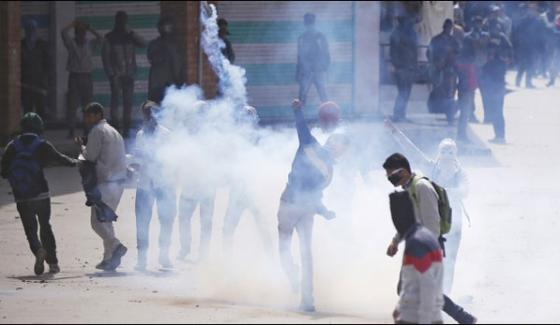 Situation Remains Tense In Occupied Kashmir