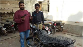 Karachi Bid To Loot Police Commando Becomes Tough For Dacoits