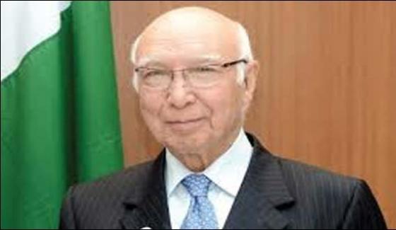 India Divert Attention From Kashmirsartaj Aziz
