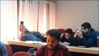 Pakistani Student Video Popular On Social Media