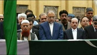 Sindh Governor Saeed Uz Zaman Siddiqui Laid To Rest In Karachi
