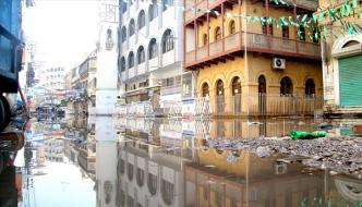 Karachiquaid E Azam House Is Surrounded By Water