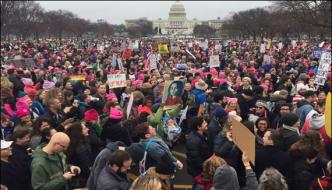 Hundreds Of Thousand Women Marched In Washington All The Night