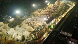 19 Building Collapse In China