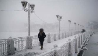 Coldest Village On Earth Oymyakon Russia