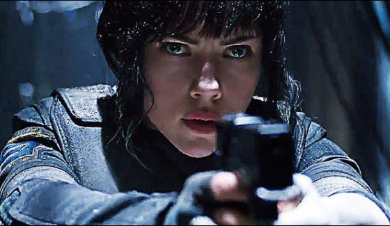 Ghost In The Shell Trailor Release