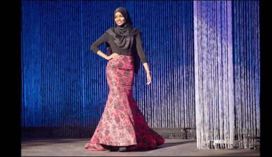 Somali Born Model Walked The Ramp In Hijab