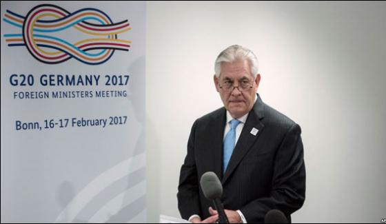 G20 Foreign Ministers Two Day Meeting Starts In Bonn