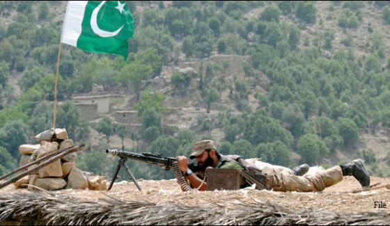 Pak Army Action Against Terrorists On Afghan Border