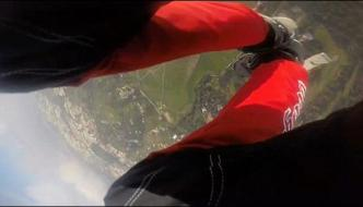 Sky Diving Thousands Of Feet Above The Stunning Catch