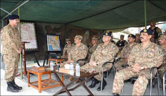 Aware Of Indian Intentions To Terrorize Pakistan Army Chief