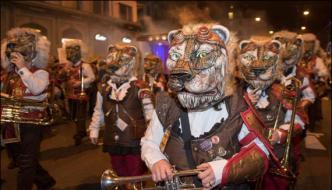 Colourful Annual Carnival Starts In Switzerland
