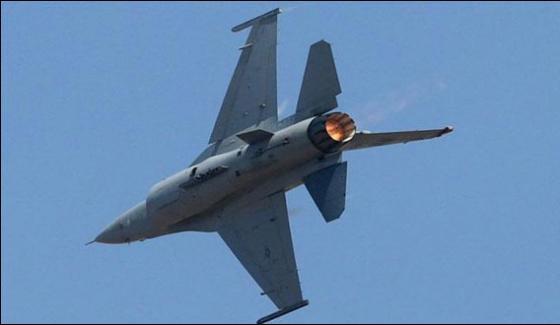 Jordans F16 Fighter Crashed In Saudi Province Najran