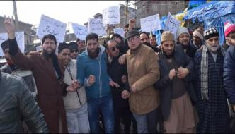 Peaceful Protest Against Indian Atrocities In Occupied Kashmir