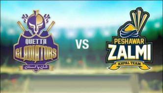 Psl First Playoff Peshawar Zalmi Vs Quetta Gladiators