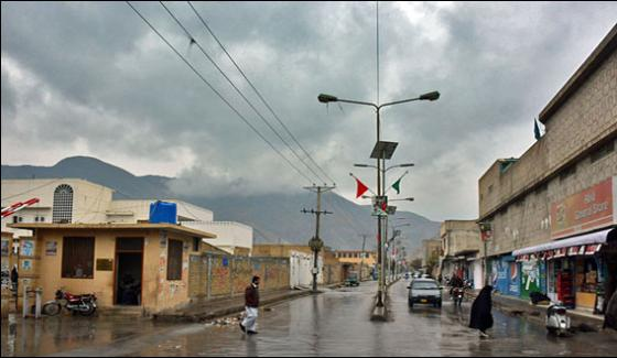 Quetta Rain And Snowfall Gives Rise To Cold Weather