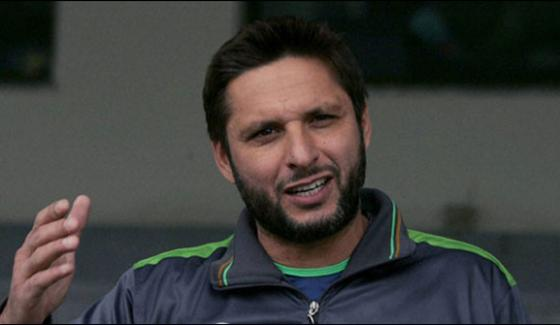 Shahid Afridi Appointed As Fifth Ambassador Of Blind Cricket World Cup