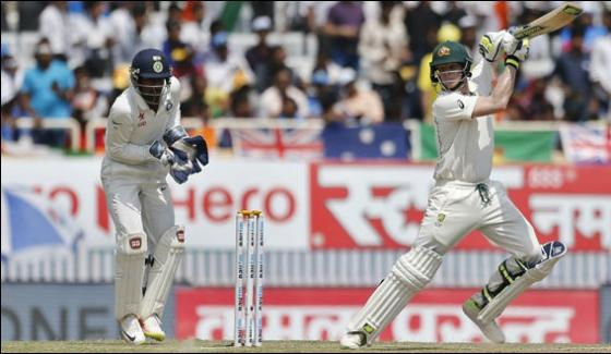 Australia All Out At 451 India Score 120 For 1 At Ranchi Test