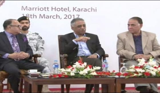 Karachi Sindh Governor Mohammad Zabair The Discussion Program Organized Byjang Group
