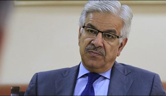 Indus Water Talks In Best Interests Of Both Countries Khawaja Asif