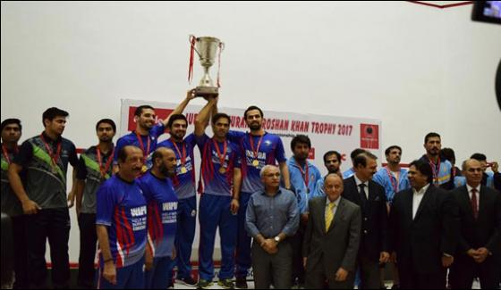 Jubilee Insurance Roshan Khan Team Event Championship Won By Wapda