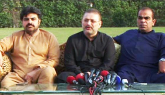 Sarjeel Memon Fear To Arrest