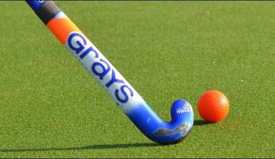 Hockey Test Pakistan Beat New Zealand