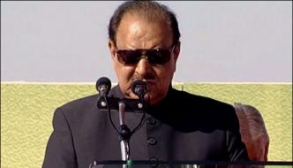 Pakistan Won The Ideological Identity Of The Nation President Mamnoon