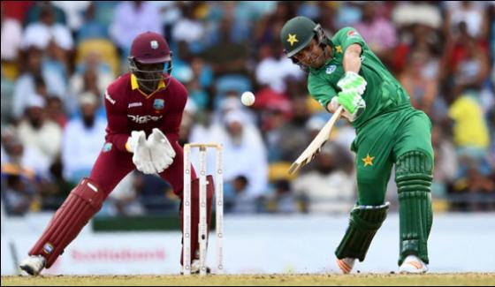Pakistan Beats West Indies By 6 Wickets At Bridgetown In 1st T20