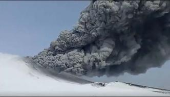 Russia Snow Covered Volcano Had Exploded After 250 Years