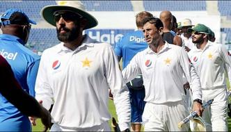 Pakistan Team One Level Down In The Test Rankings