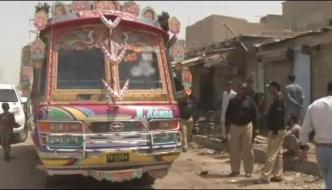Karachi Minibus Firing Case Court Angry At The Police