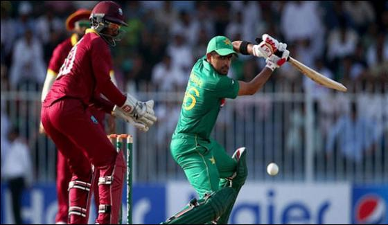 Pakistan And West Indies To Play 3rd Odi Today