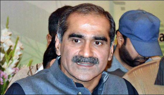 Zardari Should Inform Whose Power Station Needs Gas Saad Rafique