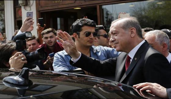 Turkish President Got 831000 Votes In Referendum From Foreign Countries