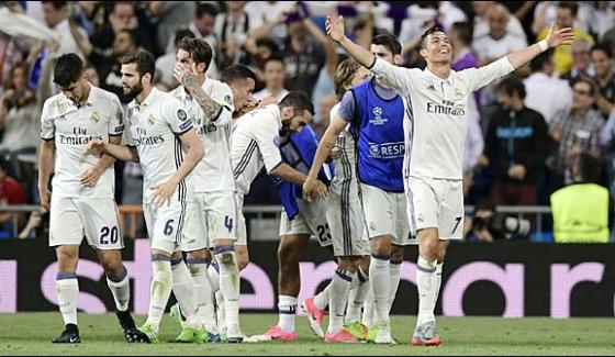 Champions League Riyal Madrid Defeated Munich In The Quarter Finals