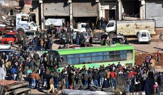 Three Thousand Syrians Have Been Evacuated From The Besieged Cities