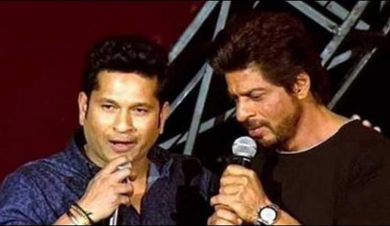 Shahrukh Khan Wishes To Sachin Tendulkars Movie