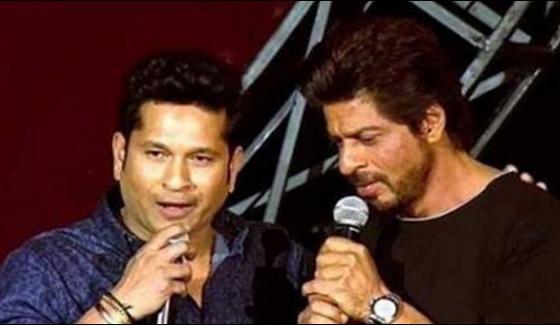 Shahrukh Khan Wishes To Sachin Tendulkars Movie